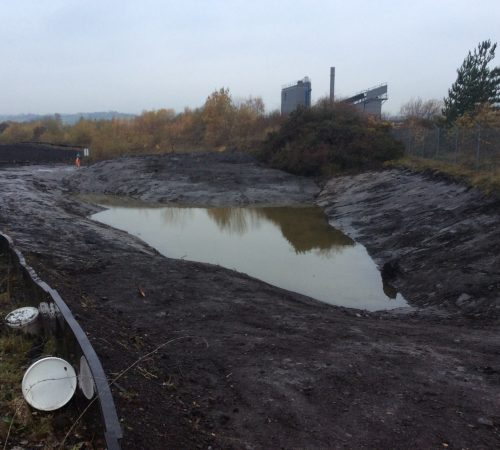 Pond Work